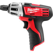 Milwaukee 2401-20 M12 Cordless Screwdriver (Bare Tool Only)