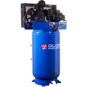 Global Industrial™ Two Stage Piston Air Compressor, 5 HP, 80 Gal., 1 Phase, 230V