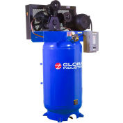 Global Industrial™ Two Stage Piston Air Compressor, 7.5 HP, 80 Gal., 1 Phase, 230V