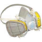 3M™ 5203 Half Facepiece Disposable Respirator Assembly, OV/AG, Medium, 1 Each
