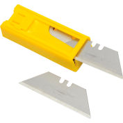 Stanley 11-921T Heavy-Duty Utility Blades with Dispenser, 10 Pack