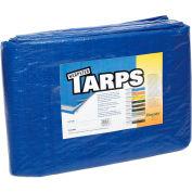 6' x 10' Light Duty 2.9 oz. Tarp, Blue - B6x10