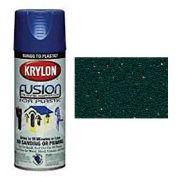 Krylon Fusion For Plastic Paint Textured Shimmer Forest Green - K02523000 - Pkg Qty 6