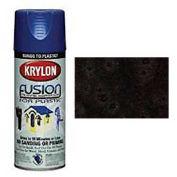 Krylon Fusion For Plastic Paint Hammered Finish Black - K02531000 - Pkg Qty 6