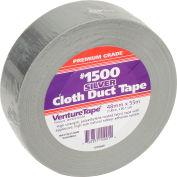 3M™ VentureTape #1500 General Purpose Cloth Duct Tape, 2 IN x 60 Yards, Silver