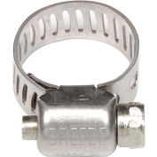 "Breeze Mini Hose Clamp - 1/2"" Min - 29/32 Max - Pkg of 200"