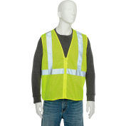 Aware Wear® ANSI Class 2 Economy Mesh Vest, 61445 - Lime, Size M