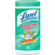 Lysol® Disinfecting Wipes Lemon Lime Blossom, 80 Wipes/Can 6/Case - RAC77182CT
