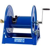 "Coxreels 1125-5-175 Competitor Series 3/4""x175' 3000 PSI Hand Crank Steel Hose Reel"