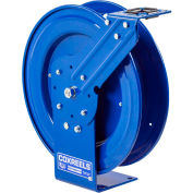 "Coxreels P-LPL-325 3/8""x25' 300 PSI Spring Retractable Low Pressure Steel Hose Reel"