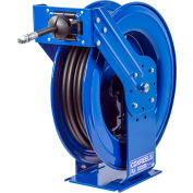 "Coxreels TMP-N-450 1/2""x50' 3000 PSI Supreme Duty Spring Retractable Medium Pressure Steel Hose Reel"
