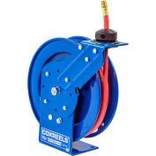 "Coxreels P-LP-325 3/8""x25' 300 PSI Spring Retractable Low Pressure Hose Reel"