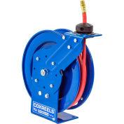 "Coxreels P-LP-325 3/8""x25' 300 PSI Spring Retractable Low Pressure Hose Reel"