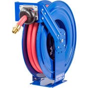 "Coxreels TSHF-N-635 1""x 35' 300 PSI Spring Retractable Fuel Delivery Steel Hose Reel"