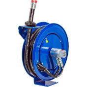 "Coxreels MPD-N-330 3/8""x30' 3000 PSI Dual Hydraulic Spring Retractable Steel Hose Reel"