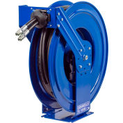 "Coxreels TDMP-N-350 3/8""x50' 3000 PSI Dual Hydraulic Spring Retractable Steel Hose Reel"