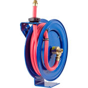 "Coxreels SHF-N-525 3/4""x25' 300 PSI Spring Retractable Fuel Delivery Steel Hose Reel"