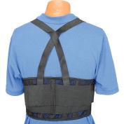 """Standard Back Support Belt, Adjustable Suspenders, X-Large, 42-52"""" Waist Size"""