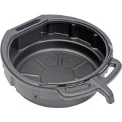 Funnel King® 4-Gallon Polyethylene Oil Drain Pan w/ E-Z Grip Handles - 32953