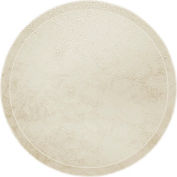 """Cambro 1550526 - Camtray 15.5"""" Round Low,  Galaxy Antique Parchment Gold - Pkg Qty 12"""
