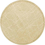 "Cambro 1950214 - Camtray 19.5"" Round Low,  Abstract Tan - Pkg Qty 12"
