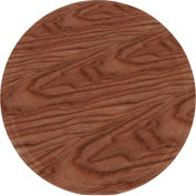 "Cambro 1550304 - Camtray 15.5"" Round Low,  Country Oak - Pkg Qty 12"