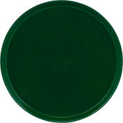 """Cambro 1550119 - Camtray 15.5"""" Round Low,  Sherwood Green - Pkg Qty 12"""
