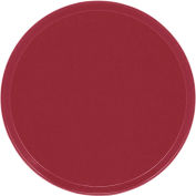 """Cambro 1600505 - Camtray 16"""" Round,  Cherry Red - Pkg Qty 12"""