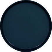 "Cambro PT1600110 - Tray Polytread 16"" Round,  Black - Pkg Qty 12"