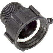 """S60x6 Female Buttress x 1-1/2"""" Male BSP Pipe Thread Adapter"""