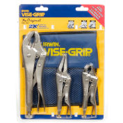 IRWIN VISE-GRIP® 73 3 Piece The Original™ Locking Plier Set W/ Pouch