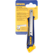Irwin® 2086100 Retractable 9MM Snap-Off Blade Utiltiy Knife
