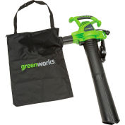 GreenWorks® 24072 235MPH 380CFM 12 Amp Corded Handheld Blower Vacuum