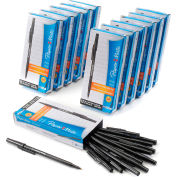 Paper Mate® Write Bros Ballpoint Stick Pen, Medium, Black Ink, Dozen