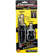 Picquic® 88911 Dynamic Duo Combo Pack Multi-Bit Driver - Assorted Color