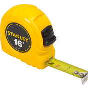 """Stanley 30-495 3/4"""" x 16' High Visibilty Tape Rule"""