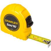 """Stanley 30-496 3/4"""" x 5 Meters/16' High-Vis High Impact ABS Case Tape Rule"""