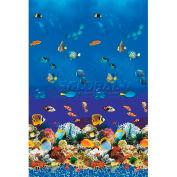 """GLI Pool Liner 050024RDAQMUB48 24' Round, Aquarium Print, 48"""" UniBead"""