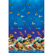 """GLI Pool Liner 051833OVAQMOL4852 18' X 33' Oval, Aquarium Print, 48""""-52"""" Sidewall OverLap"""