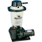 Hayward EC50 Perflex Above Ground Diatamatious Earth Filter System, 1 HP Power Flo Matrix Pump
