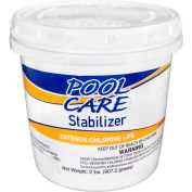 Pool Care Chlorine Stabilizer & Conditioner, 2 Lbs Bag - Pkg Qty 12