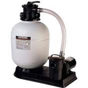 """Hayward 18"""" Pro Series Above Ground Sand Filter System, 1.5 HP Power Flo Matrix Pump"""