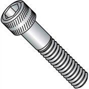 "Socket Cap Screw - 1/4-20 x 1/2"" - Steel Alloy - Thermal Black Oxide - FT - UNC - 100 Pk"