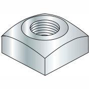 Square Nut - 1/4-20 - Grade 2 - Steel - Zinc CR+3 - Pkg of 250 - Brighton-Best 237028