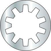 Internal Tooth Lock Washer - #4 - Steel - Zinc CR+3 - Pkg of 2500 - BBI 240020