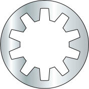 "Internal Tooth Lock Washer - 5/16"" - Steel - Zinc CR+3 - Pkg of 1000 - BBI 240080"