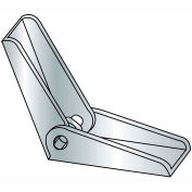 1/4-20 - Toggle Anchor Wing - Steel - Zinc CR+3 - Pkg of 100 - Brighton-Best 262022