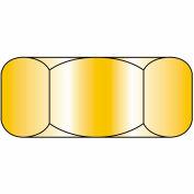 Finished Hex Nut - 1/2-13 - Low Carbon Steel - Zinc CR+3 - UNC - Pkg of 100 - Brighton-Best 319125