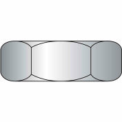 Heavy Hex Nut - 1/4-20 - Steel - Zinc CR+3 - UNC - Grade A - ASTM A563 - Pkg of 100 - BBI 320050