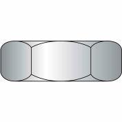 Hex Jam Nut - 5/8-11 - Low Carbon Steel - Zinc CR+3 - UNC - Pkg of 50 - Brighton-Best 330170